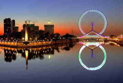 Tianjin Eye, China