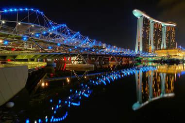 The Helix Bridge, Singapore