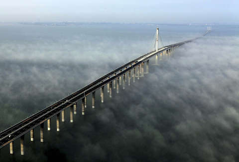 Jiaozhou Bay Bridge, China