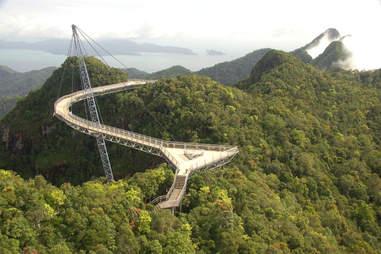 Pulau Langkawi's Suspended Bridge, Malaysia