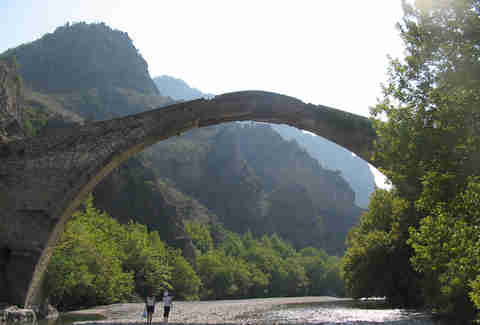 The Old Bridge of Konitsa, Greece