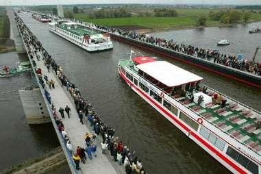 Madgeburg Water Bridge, Germany