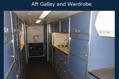 air force one forward cabin