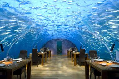 Conrad Underwater Restaurant