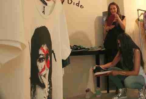 Gene Simmons T-Shirt at Alessandra Gold Concept Store