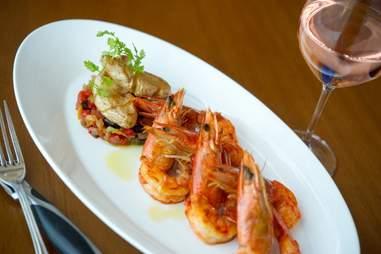 Shrimp from Azure at Revel Atlantic City