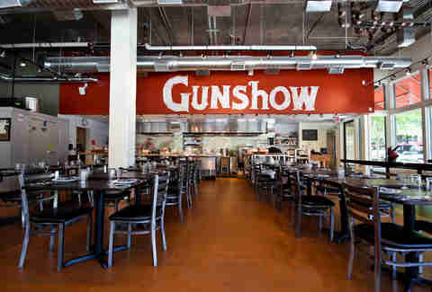 Gunshow interior