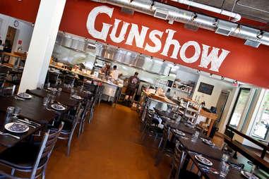 Gunshow interior