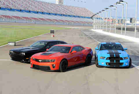 American Muscle Car Challenge -- lineup