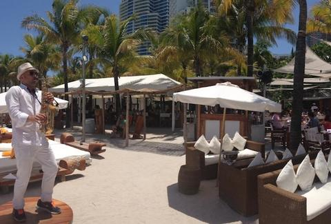 Nikki Beach seating
