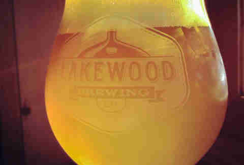 Lakewood Till & Toil beer
