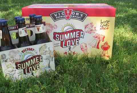 Victory Brewing Co's Summer Love