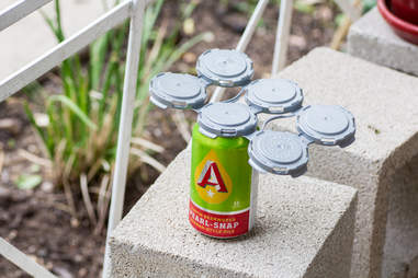 A can of Austin Beerworks' Pearl Snap