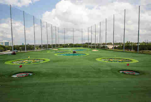 TopGolf driving range