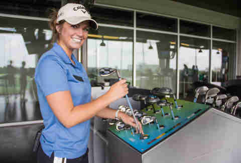 TopGolf Austin golf clubs