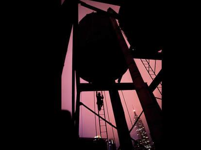 Night Heron Speakeasy Watertower