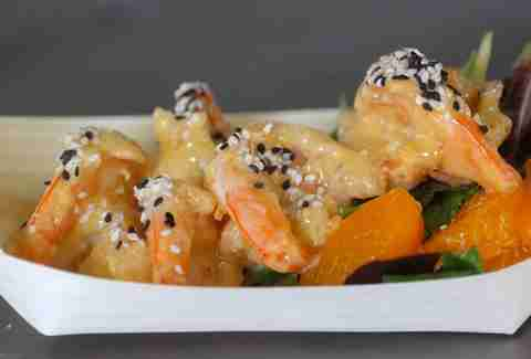 Barking Frog Mobile Kitchen prawns
