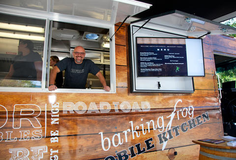 Barking Frog Mobile Kitchen Chef Bobby Moore