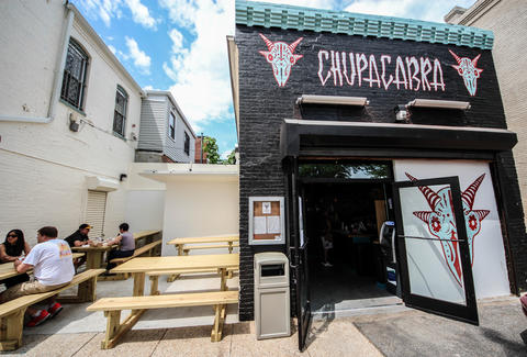 The exterior at Chupacabra Taqueria