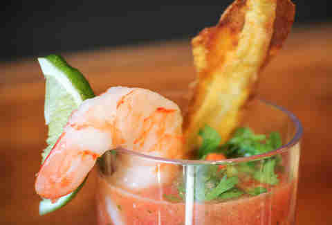 Chupacabra Shrimp Cocktail