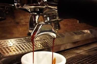 Coffee machine at Gaslight