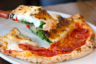 Pizza Vesuvius at Pizza Republica
