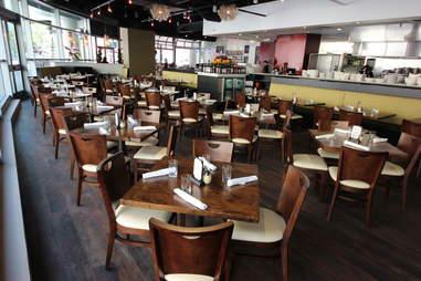 dining area of Pizza Republica
