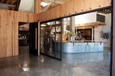 The interior at Sightglass Coffee