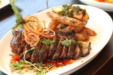 Steak at Madison and Main