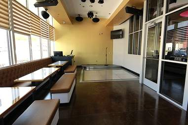 Private karaoke at Trio Club