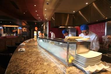 Sushi bar at S3