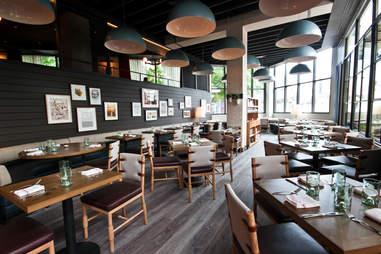 King + Duke interior dining room