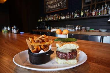 King + Duke - The Duke burger and fries