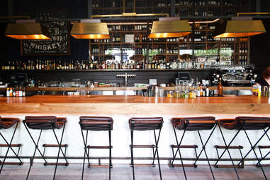 King + Duke interior bar