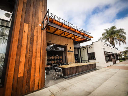 Solterra Winery and Kitchen in Leucadia.