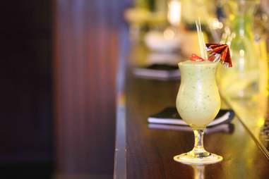 The King of ladies man thai green colada cocktail