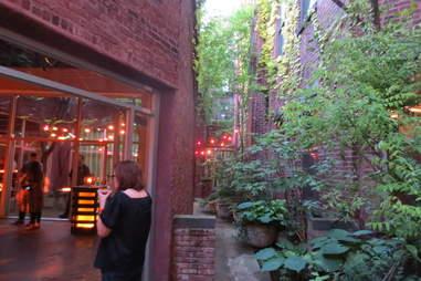 Diageo World Class courtyard
