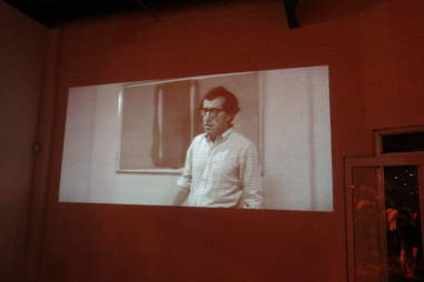 Woody Allen projection at Diageo World Class