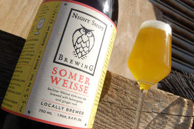 Night Shift Brewing's Somer Weisse