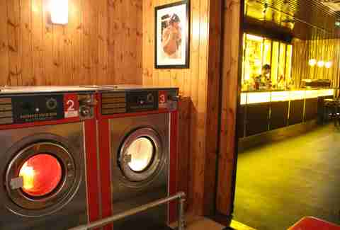 Launderette and bar at The Breakfast Club