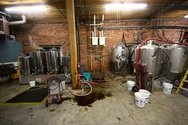 Spinnaker Bay Brewing equipment