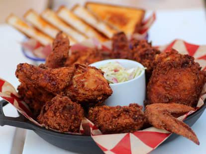 Fried chicken at Parson's Chicken & Fish in Chicago