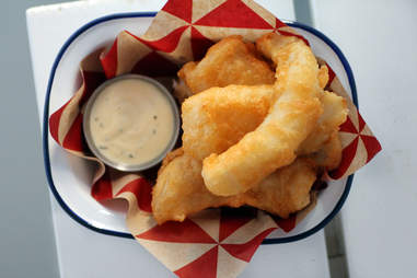 Fried pollock at Parson's Chicken & Fish