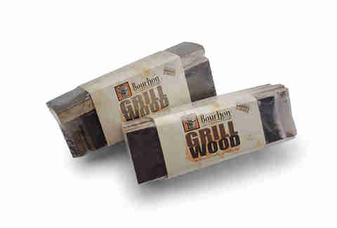 Pack of bourbon barrel grill wood