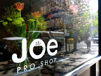 Store front of Joe Coffee