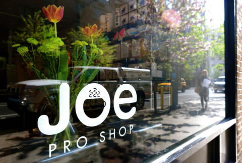 Store front of Joe Coffee