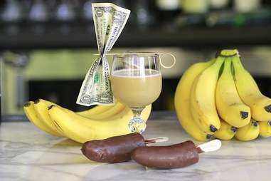 The There's Always Money In The Banana Stand cocktail from Arrested Development.