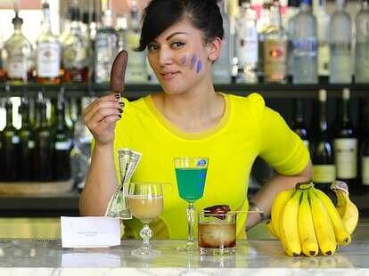 Erica Namare, bartender of 23Hoyt and creator of the Arrested Development cocktails.