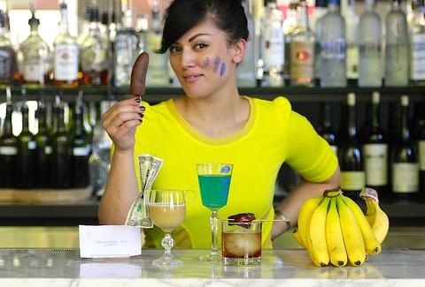 Erica Namare, bartender of 23Hoyt and creator of the Arrested Development cocktails.