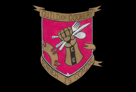 The shield of the Guild of Cookery